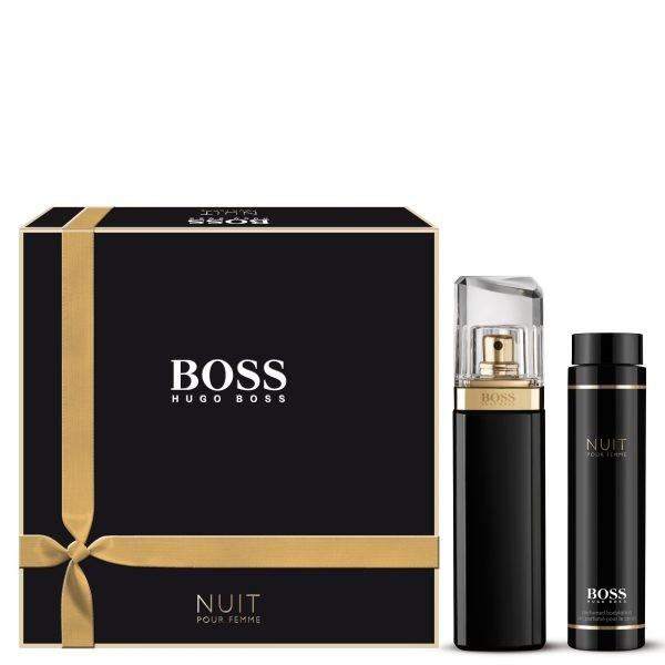 Hugo Boss Boss Nuit Pour Femme Eau De Parfum 50ml Gift Set For Her